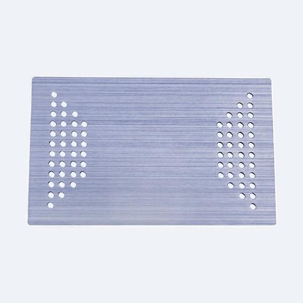 孔板不锈钢冲压件