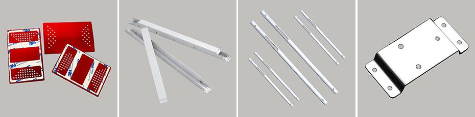 铝合金冲压件-平面件