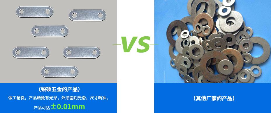 金属缠绕垫片-椭圆形垫片的对比