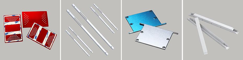 铝合金冲压件-折弯件